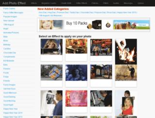 addphotoeffect.com screenshot