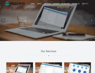 addpro.in screenshot