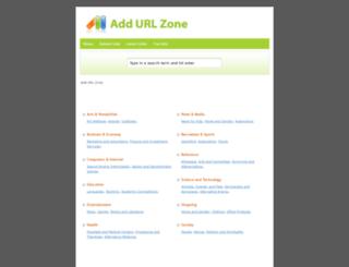 addurlzone.com screenshot