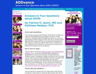 addvance.com screenshot