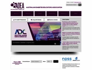 adea.com.au screenshot