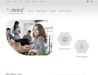 adebio.de screenshot