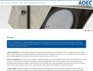 adec-technologies.com screenshot
