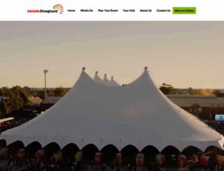 adelaideshowground.com.au screenshot
