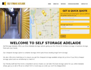 adelaidestoragezone.com.au screenshot
