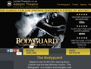adelphitheatrelondon.com screenshot