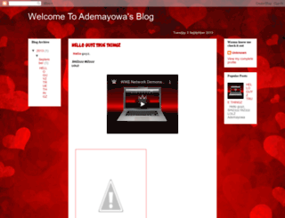 ademayowablog.blogspot.com screenshot