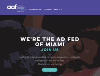 adfedmiami.com screenshot