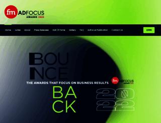 adfocus.co.za screenshot