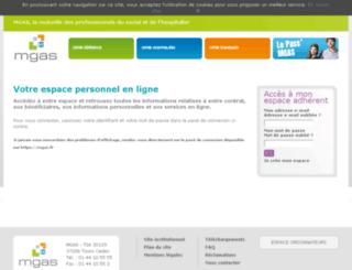 adherents.mgas.fr screenshot