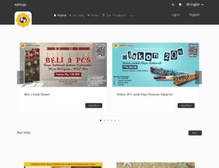 adhiraja.com screenshot