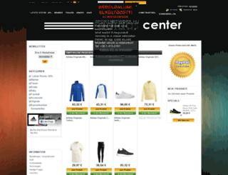 adidascenter.com screenshot