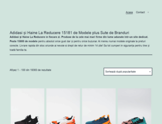 adidasi-haine.ro screenshot