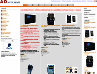 adinstruments.es screenshot