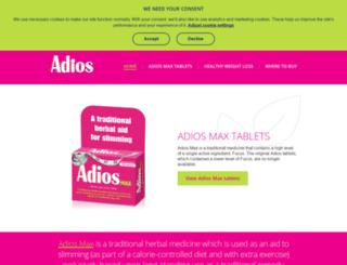 adiosdiet.co.uk screenshot