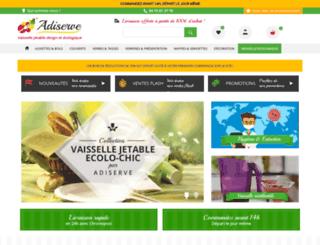adiserve.fr screenshot