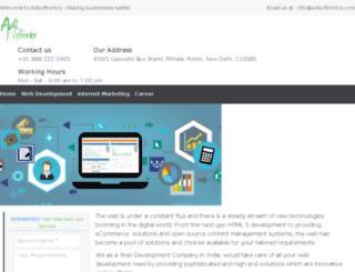 adisoftronics.com screenshot