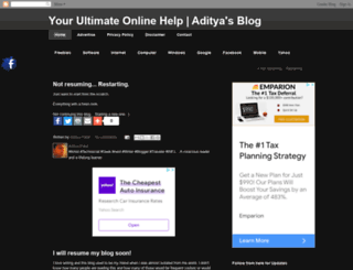 adityapateloo7.blogspot.com screenshot