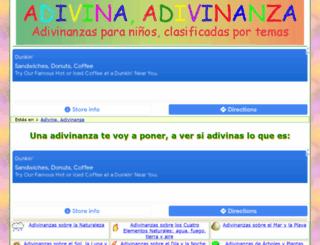 adivinancero.com screenshot