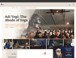 adiyogi.org screenshot