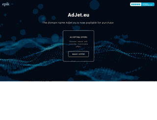 adjet.eu screenshot