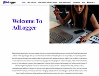 adlogger.org screenshot