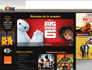 adm.cine.com.do screenshot