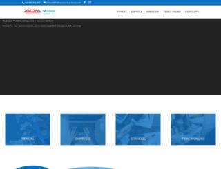 admcomunicaciones.es screenshot