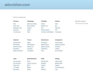 admin.adswisher.com screenshot