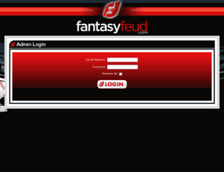 admin.fantasyfeud.com screenshot