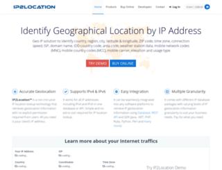admin.ip2location.com screenshot