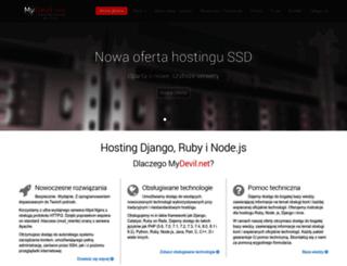 admin.net.pl screenshot