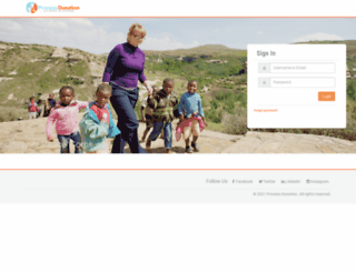 admin.processdonation.org screenshot