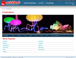 admin.quickbeds.com screenshot