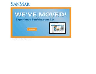 admin.sanmar.com screenshot