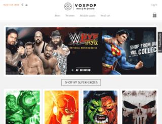 admin.voxpop.com screenshot