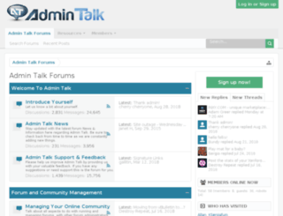 adminaddict.net screenshot