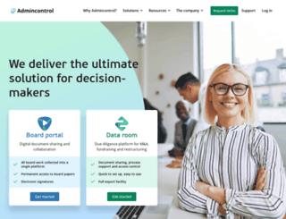 admincontrol.net screenshot