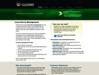 admingeekz.com screenshot