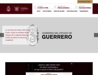 administracion2014-2015.guerrero.gob.mx screenshot