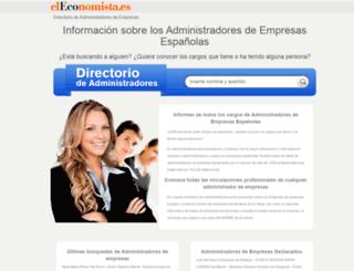 administradores.eleconomista.es screenshot