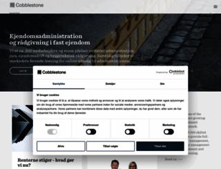 administrationshuset.dk screenshot
