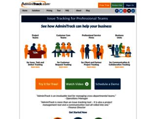 adminitrack.com screenshot