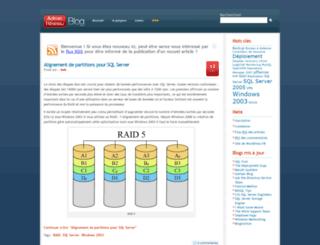 adminreseau.net screenshot
