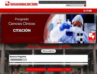 admisiones.univalle.edu.co screenshot
