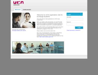 admission.ucn.dk screenshot