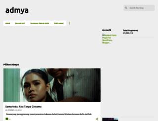 admya.blogspot.com screenshot