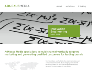 adnexusmedia.com screenshot