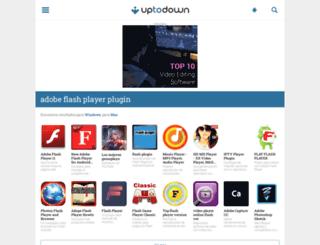 adobe-flash-player-plugin.uptodown.com screenshot