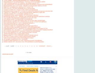 adobevallasinfo.hu screenshot